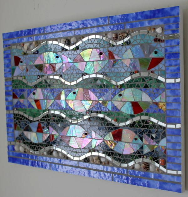Ocean Stained Glass Mosaics