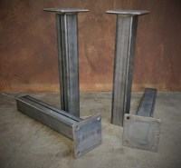 Iron Table Legs. Best Diy Metal Table Legs Ideas On ...