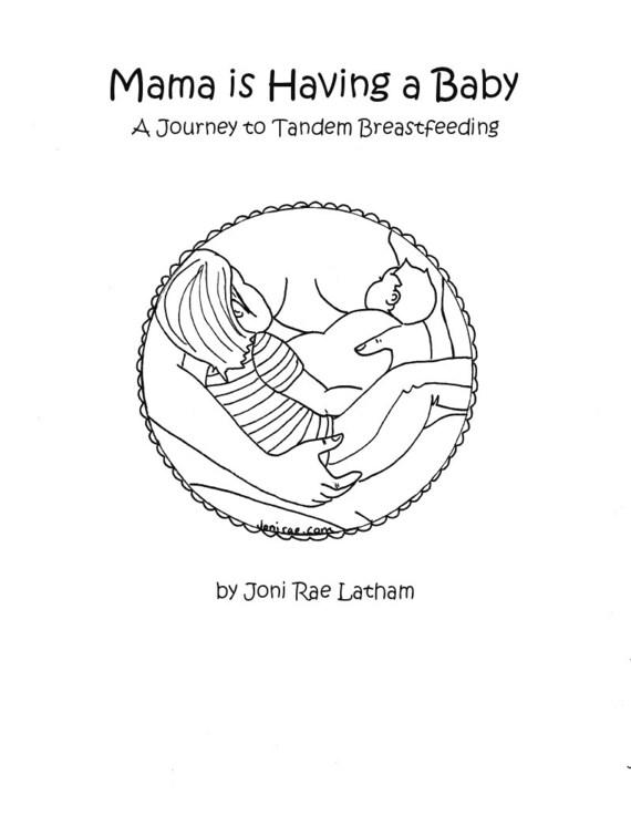 A Tandem Breastfeeding PDF Coloring Book
