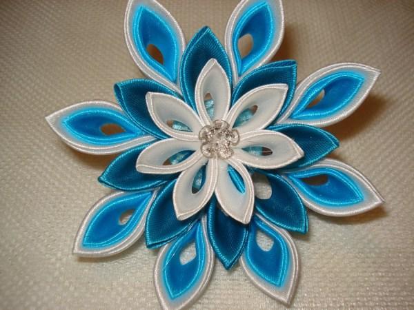 Kanzashi Flowers Bridal Accessories Wedding Hair Clip