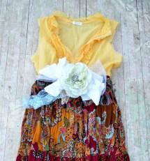 Summer Maxi Sundress Boho Chic Clothes Truerebelclothing