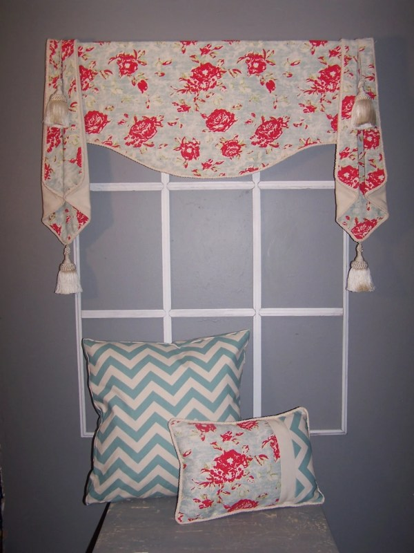 Shaped Valance With Cascades Measure Choice Of