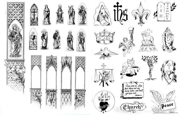 Popular items for catholic symbol on Etsy