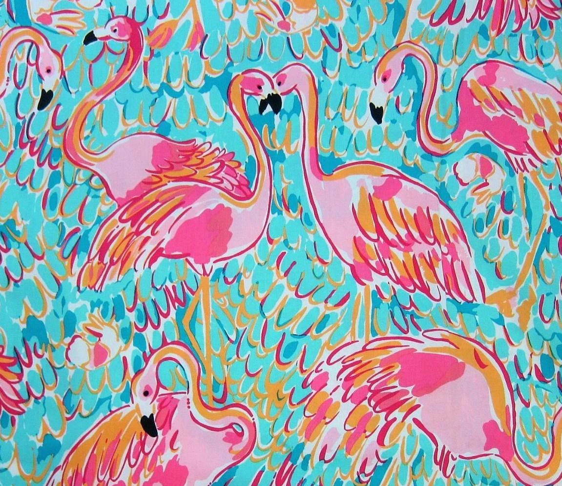 Cute Preppy Deskstop Wallpapers Lilly Pulitzer Flamingo Print