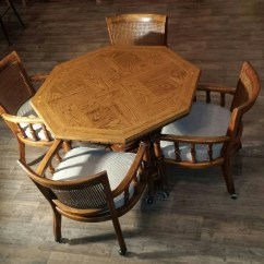 Poker Table With Chairs Hanging Egg Chair Stand Nz Drexel Game And