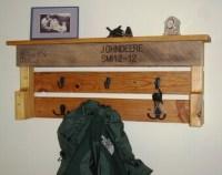 Popular items for pallet coat rack on Etsy