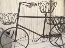 Metal Bicycle Garden Planter Home Decor