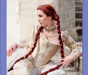 hair medieval renaissance costume