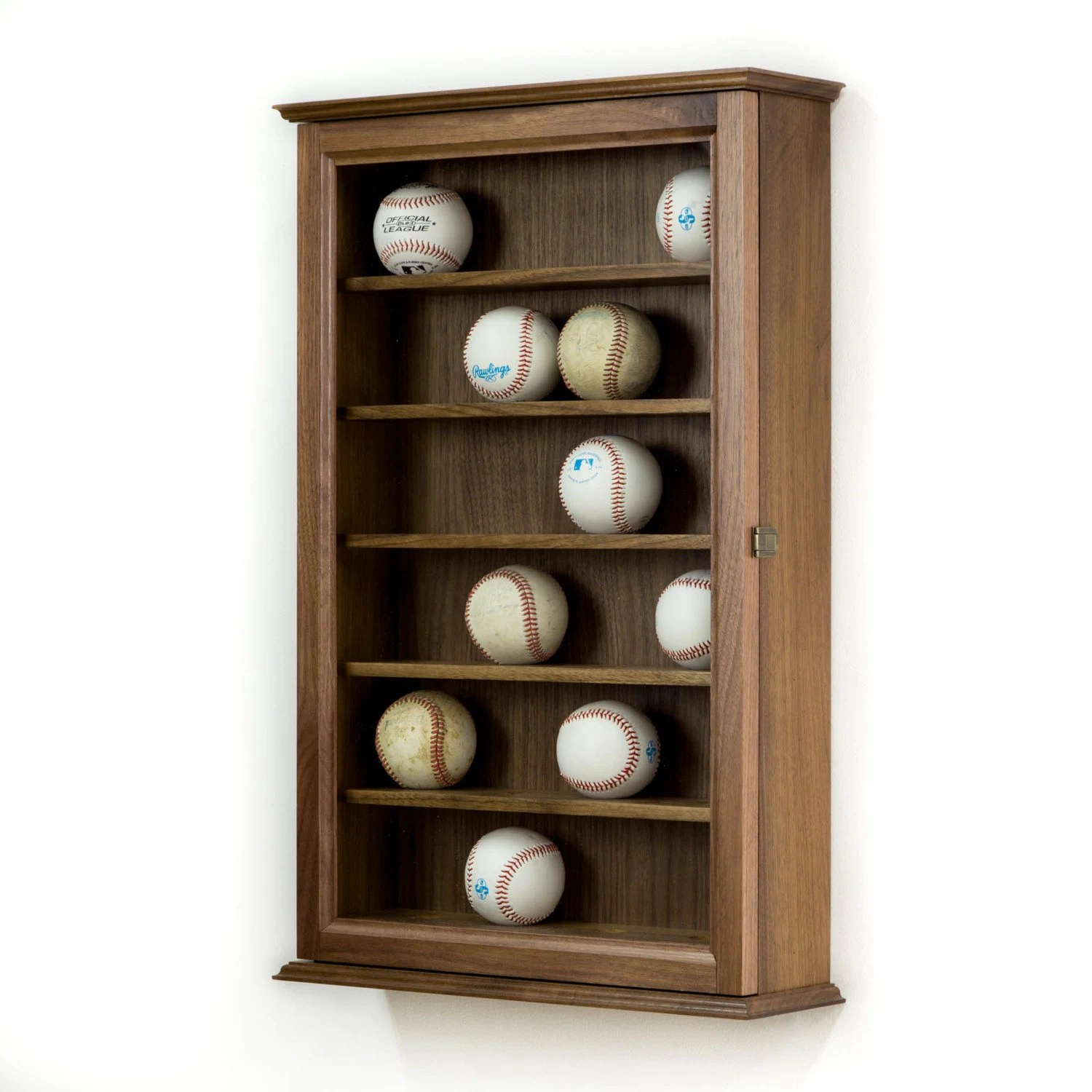 Baseball Display Case Wall Cabinet By Fwdisplay On Etsy