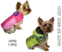 Winter Dog Jacket Pattern 1691 XXSmall & XSmall by ...