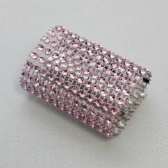 Wedding Chair Covers Hawaii Little Tikes Swivel Pink Rhinestone Diamond Sash Slips / Napkin Rings