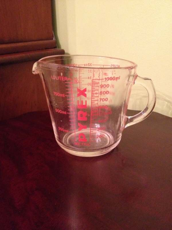 Vintage Pyrex Glass 4 Cup 532 Measuring Thesuburbanpicker