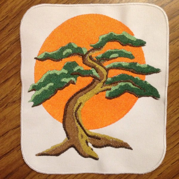 Bonsai Tree 18 Modern Karate Kid Patch