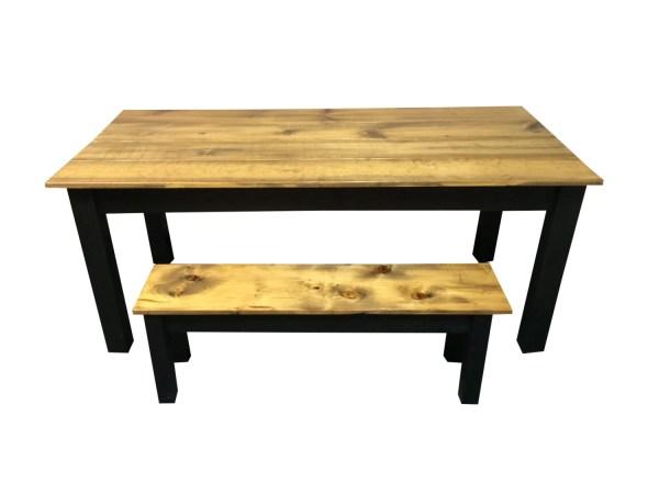 Farmhouse Table Farm Table Red MahoganyWhite