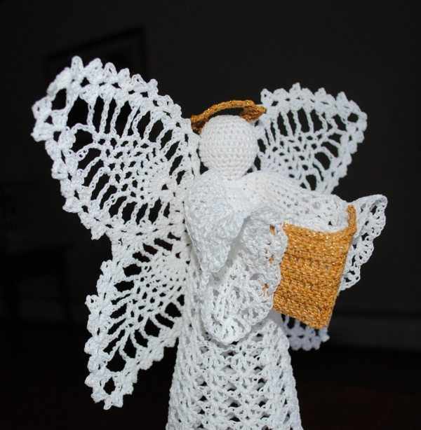 Crochet Christmas Tree Topper Angels Patterns Year Of Clean Water