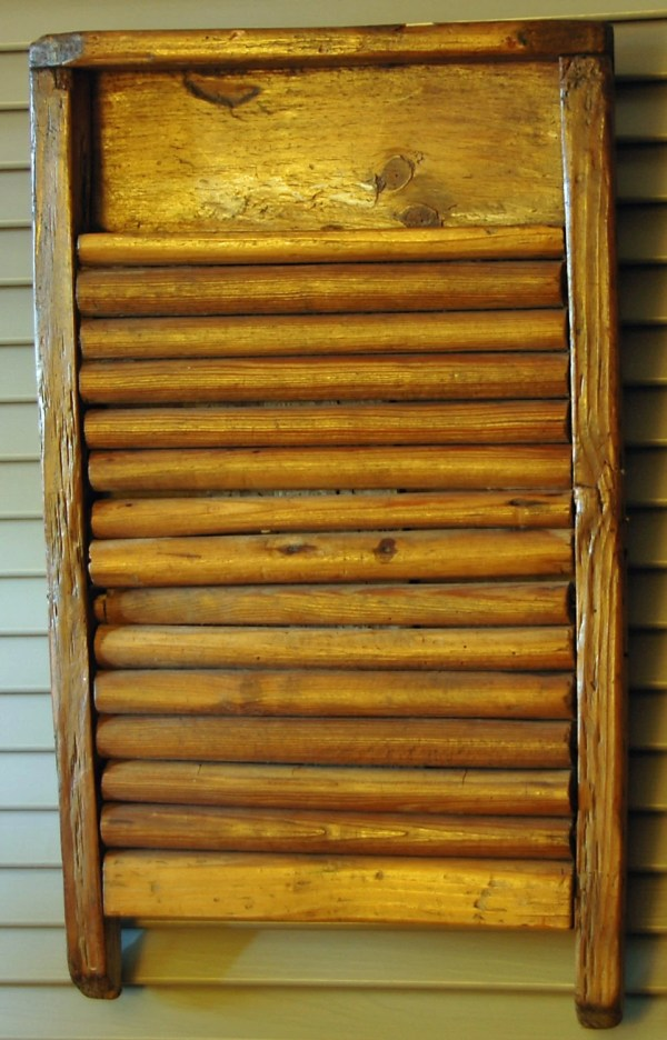 Antique All Wood Washboards