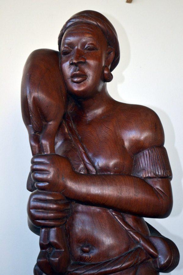 African Art Sculpture Vintage