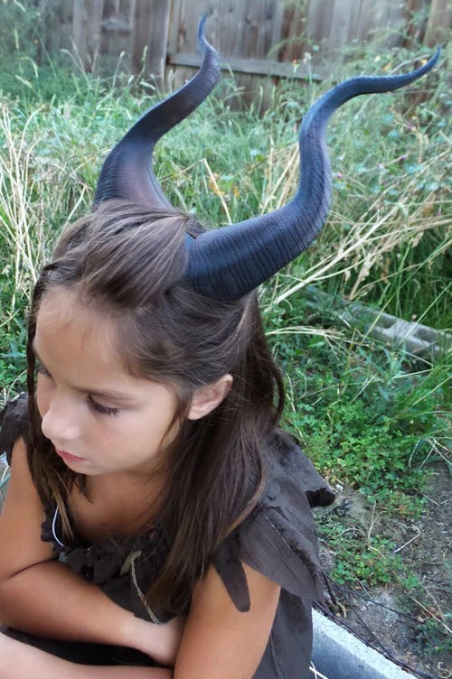 BEST SELLING Classic Young Maleficent Inspired Horns 3D