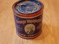 George washington great American pipe tobacco tin