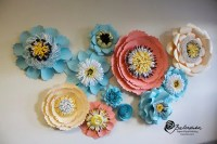 Items similar to Paper Floral Collage Handmade Paper ...