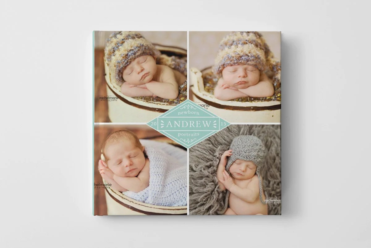 Baby Photo Book Cover Template For Photographers Baby Book