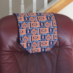 Chair Covers For Headrest Eames White Recliner Cover Auburn University By Chairflair