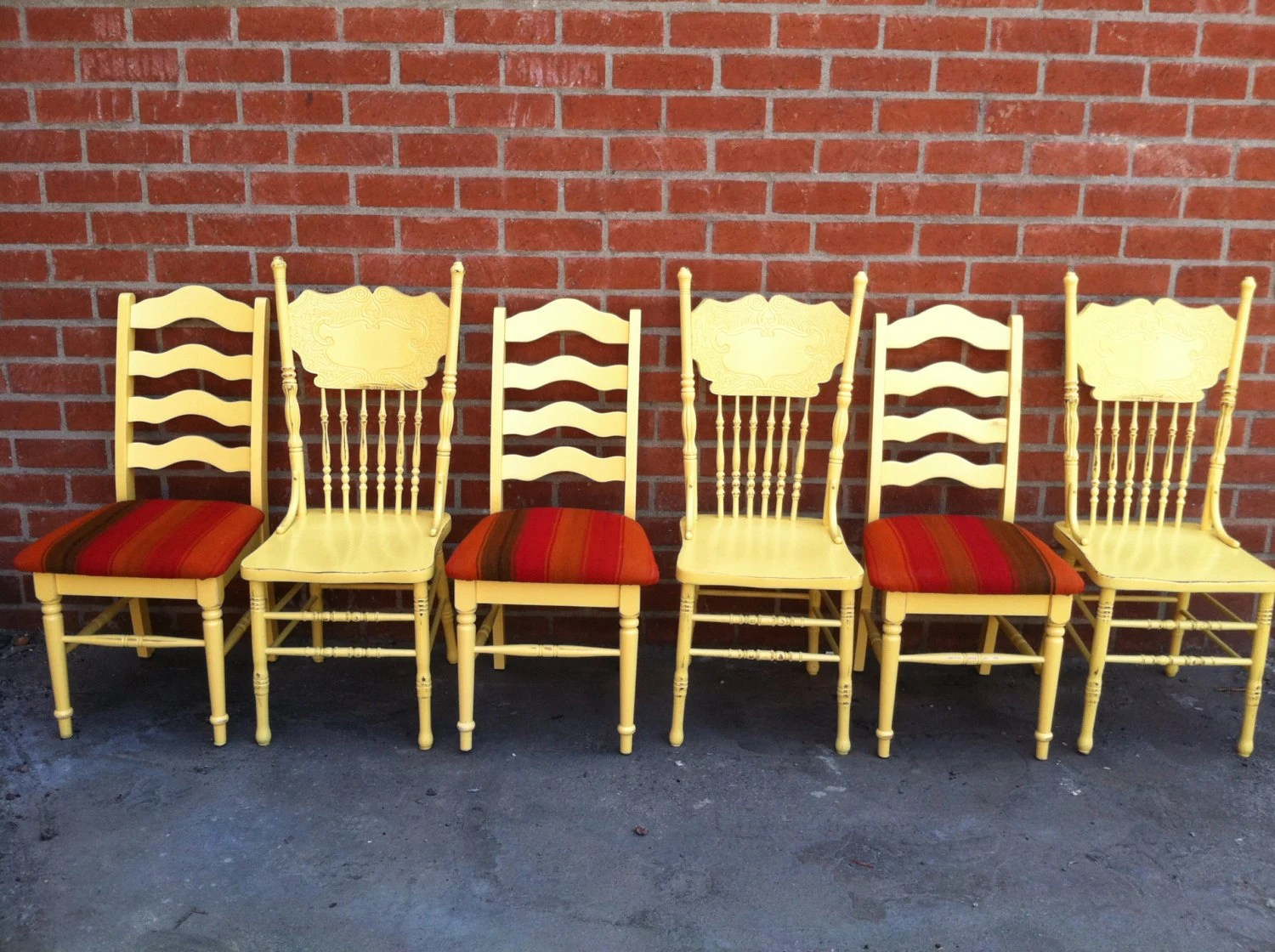Mismatched Dining Chairs Mismatch Dining Chairscustomupholstered Chairs By