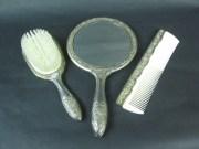vintage mirrorvintage hair brush