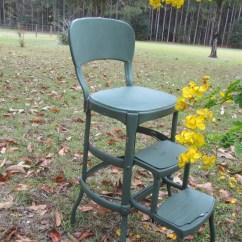 Cosco Kitchen Stool Chair Fisher Price High Ocean Wonders Vintage Metal Step Ladder