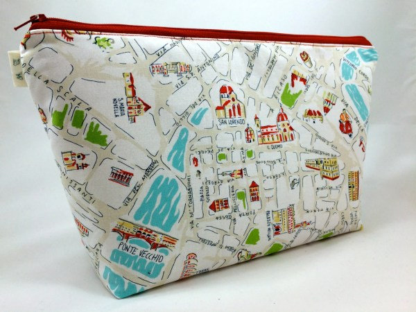 Viva Italy Extra Large Cosmetic Bag Toiletry