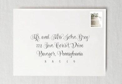 How To Address Your Wedding Invitation Envelopes