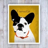 French Bulldog Art French Bulldog Decor French Bulldog