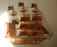 Metal Sailing Ship Wall Art - s Wall Decal
