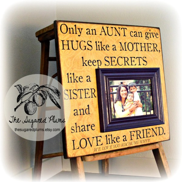 Aunt Frame Personalized