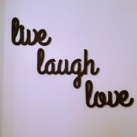 Live Laugh Love Wall Decor Wall Hanging wood by ...