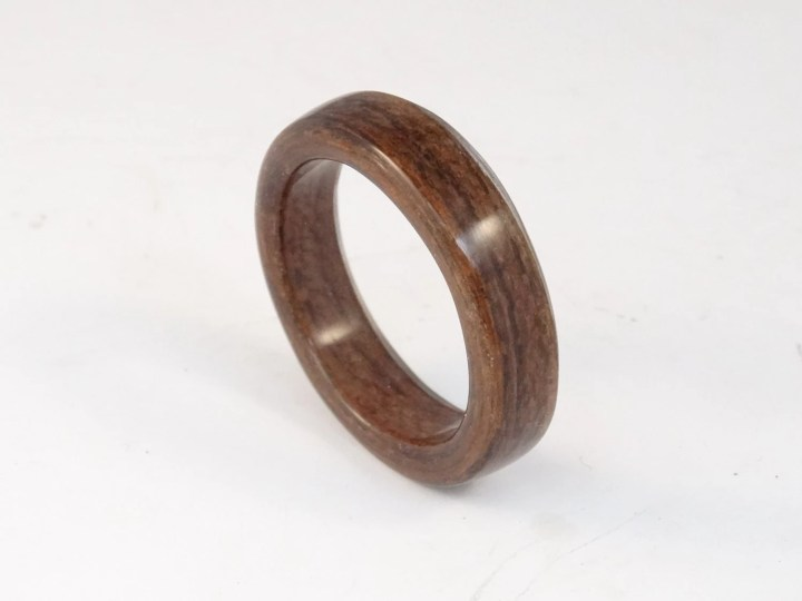 Bent Wood Ring Made with ...