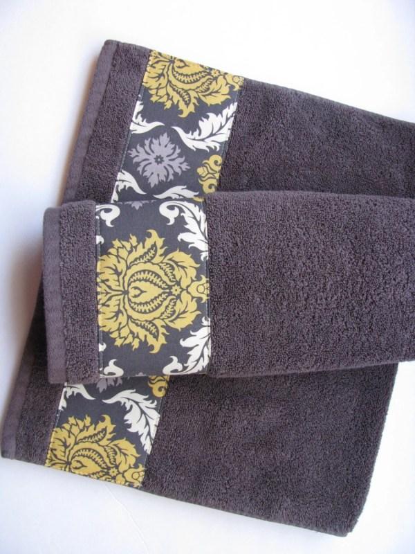 Charcoal Grey Towels Hand Towel Sets Bath