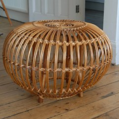 Old Wicker Chairs Uk Spinning Top Chair Free Shipping To Vintage Retro Large Franco Albini Rattan