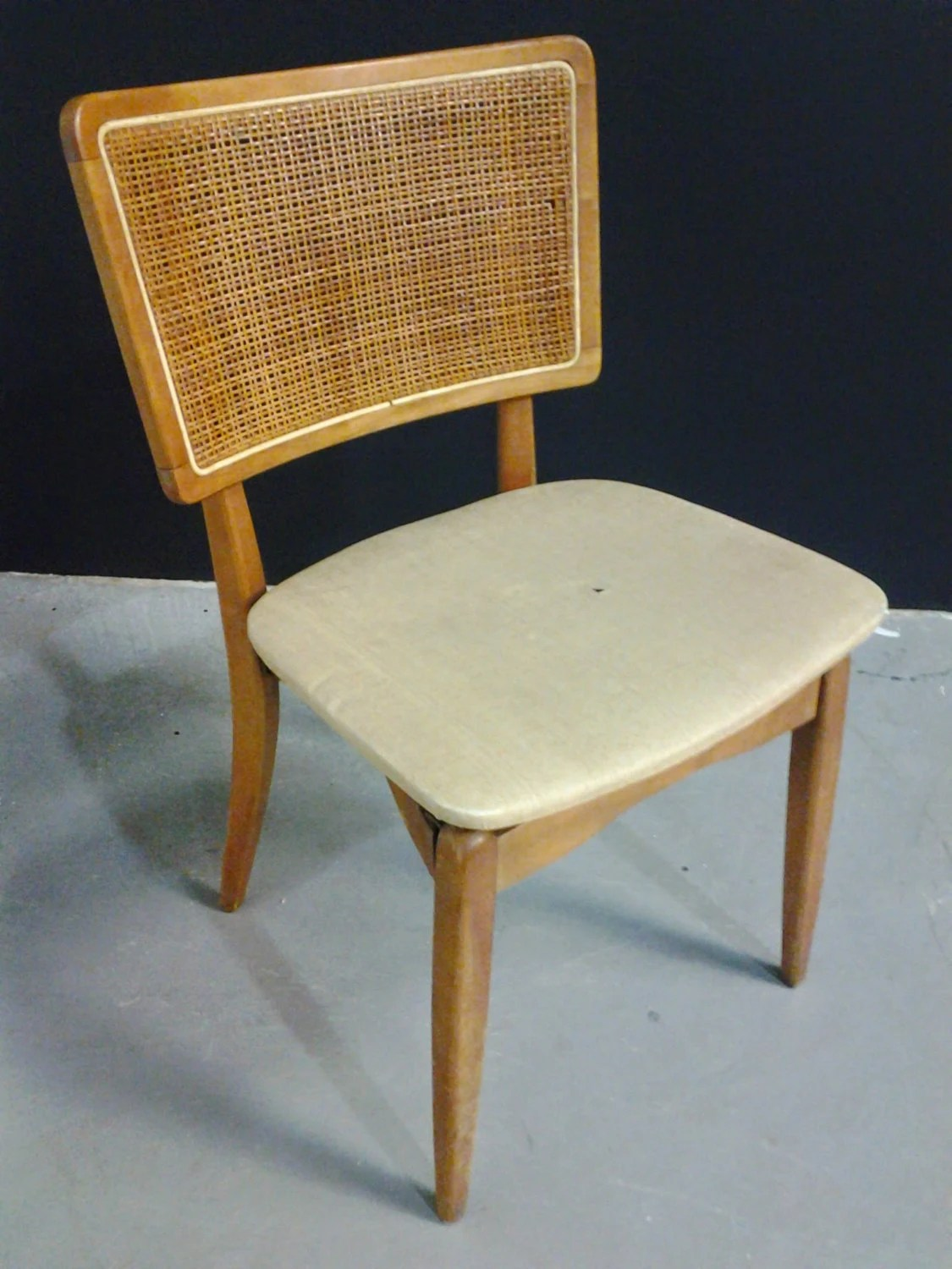 Stakmore Folding Chair Midcentury Vintage Stakmore Folding Chair With Prouve Style