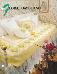Floral Daybed Set - Annie's Crochet Quilt & Afghan ...