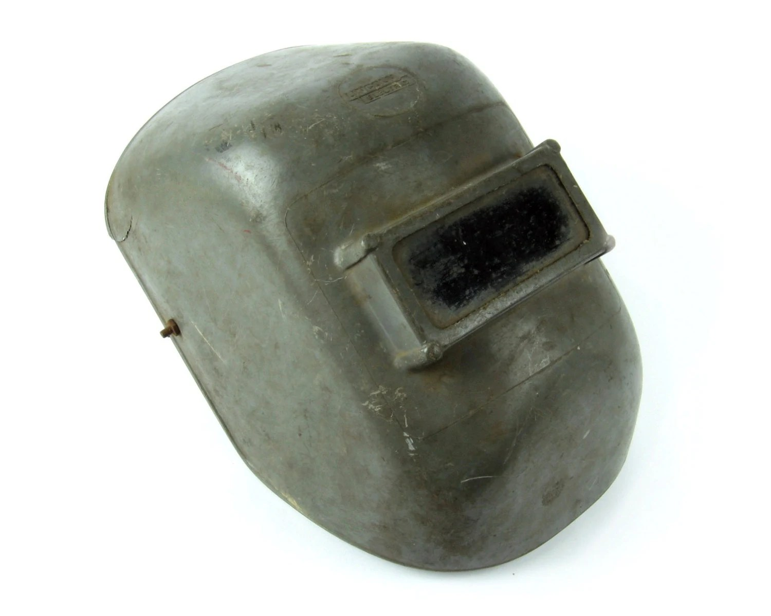 Lincoln Welders For Sale >> Vintage 1950s Welding Helmet / Welders Mask / Lincoln ...