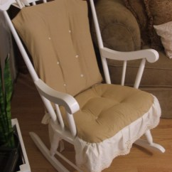 Rocking Chair Cushion Covers Recovering Lawn Chairs Cover