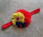snow white headband baby hair bow