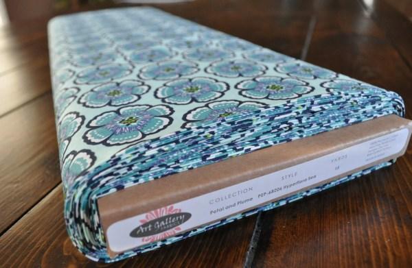 Petal And Plume Fabric Art Hyperflora