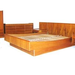 Floating Chair For Bedroom Folding Travel Platform Set Vintage Mid Century Teak