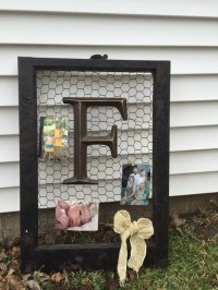 Items similar to Old window picture frame with chicken