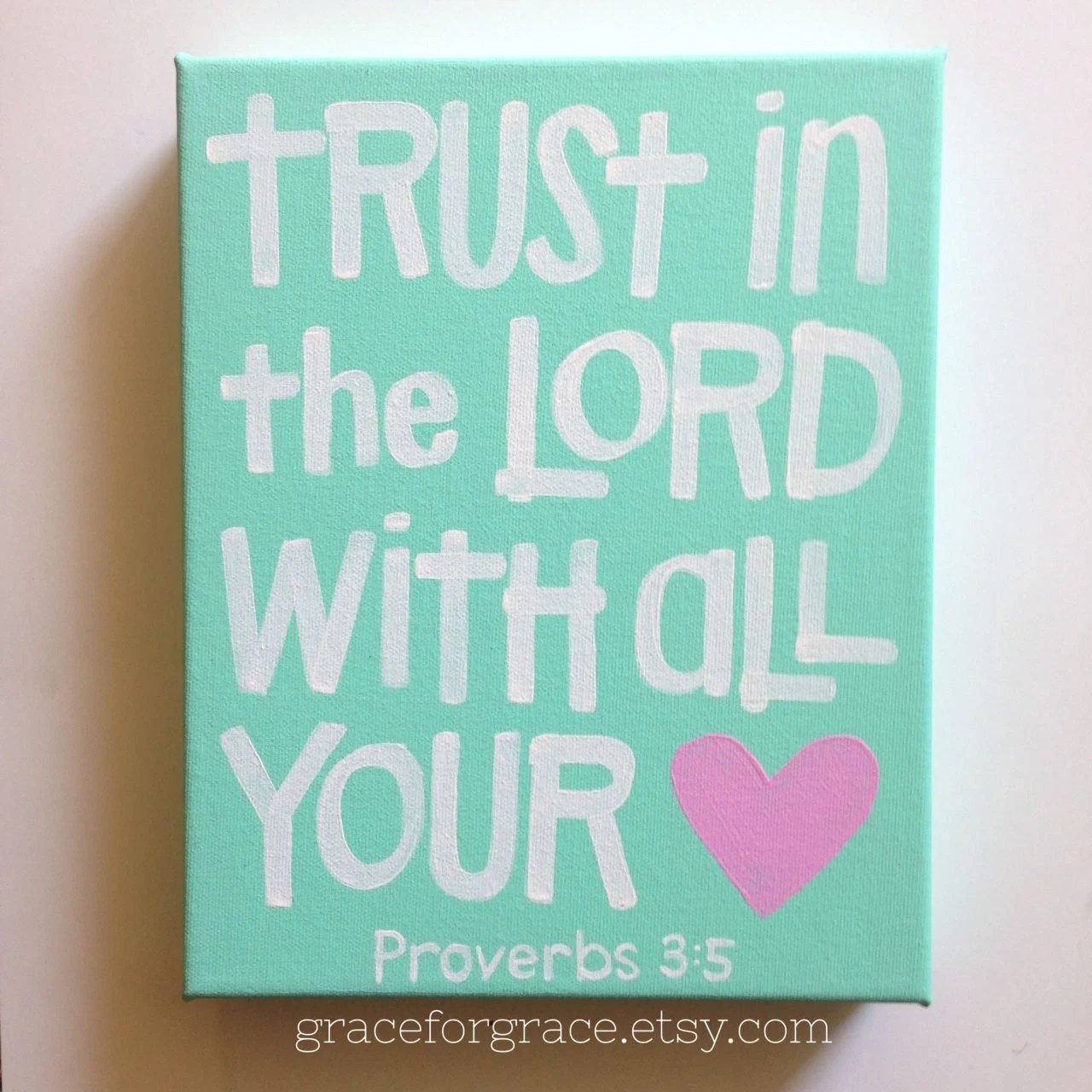 Trust In The Lord With All Your Heart Ready To By