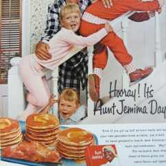 Aunt Jemima Kitchen Curtains Amazon Set 1960 Pancake Mix Vintage By Reliceclectic On Etsy