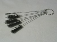 Glass and Metal Pipe CLEANING BRUSHES PIPE cleaners 3.5