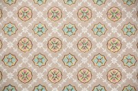 1930s Vintage Wallpaper by the Yard Antique Geometric